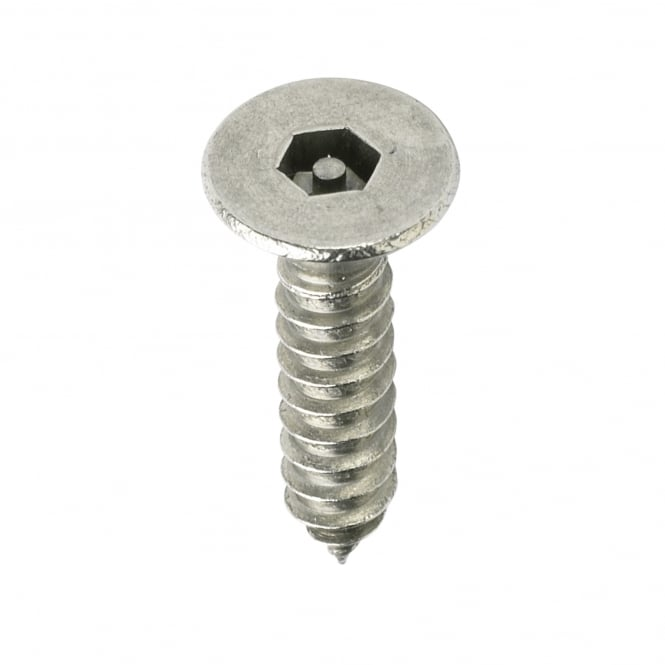 8 x 2 Pin Hex Csk St/St Screws