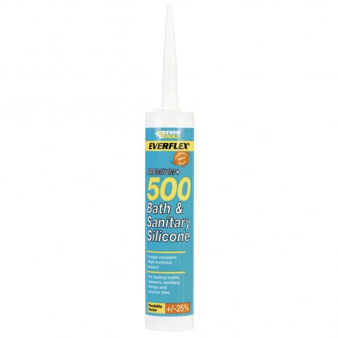 Clear Sanitory Silicone 500