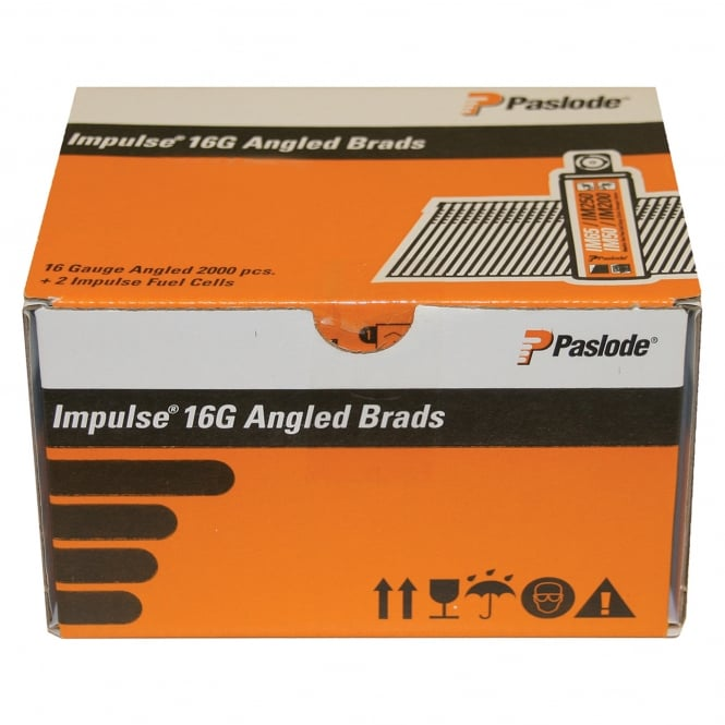 Paslode F16 x 32mm Angle Brad Fuel Pack