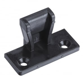 Female Black Push In Keku Style Fastener
