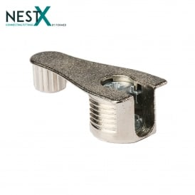 NestX 2 19mm Connecting Fitting Nickel Plated V+H