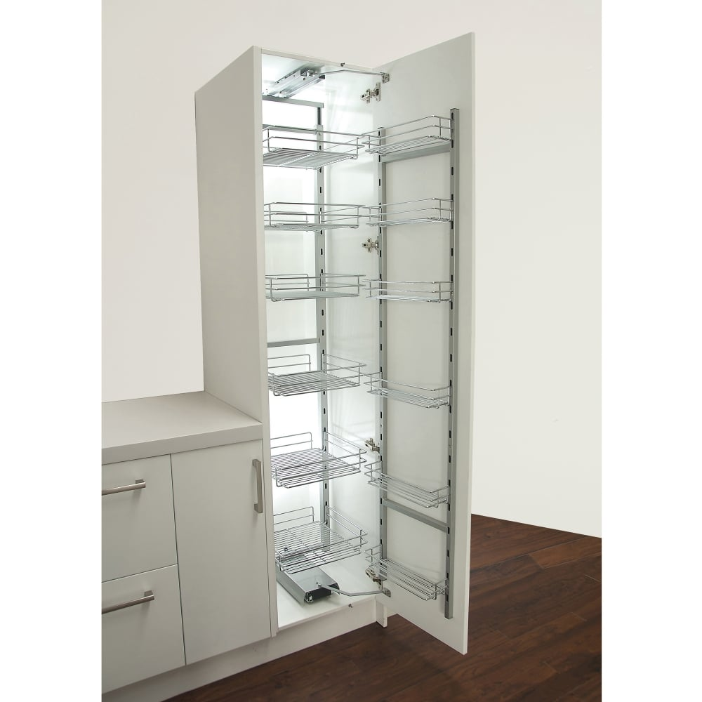 Sestino 500mm Pantry Unit Soft Close 1900 2200mm
