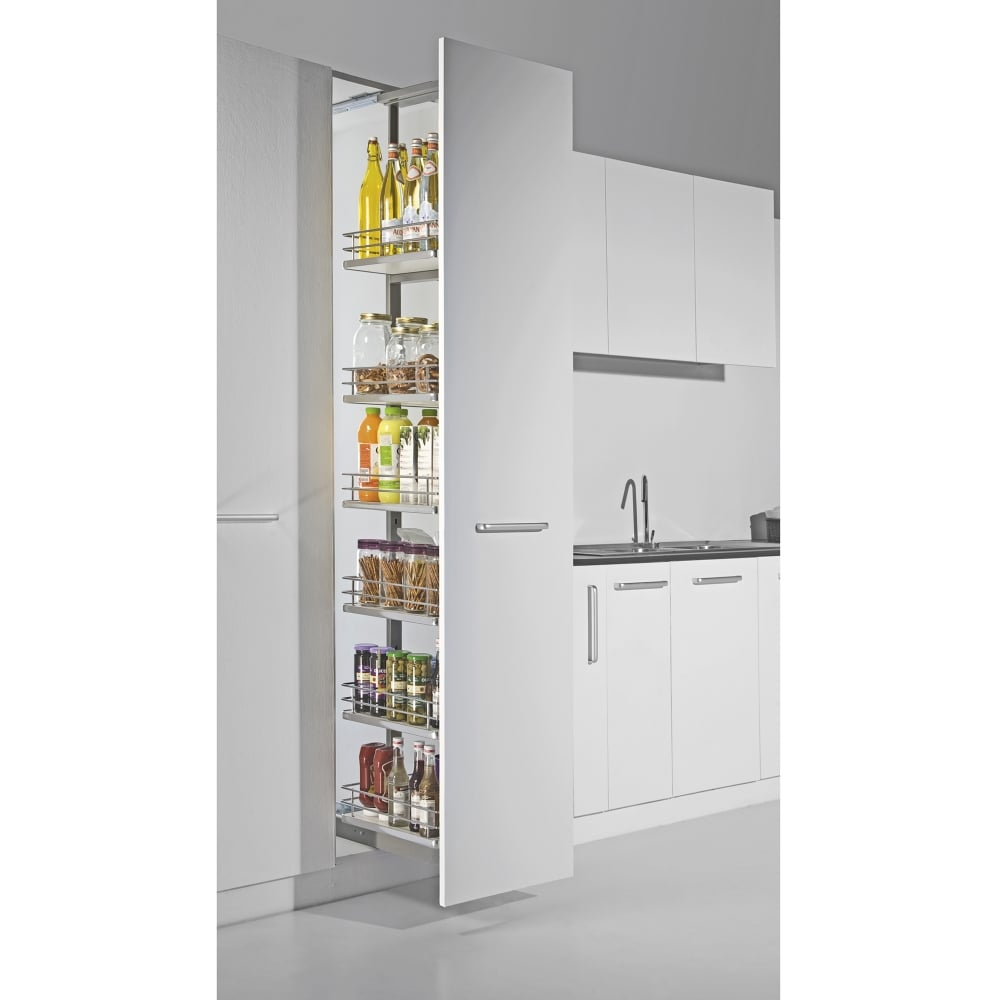 Kitchen larder unit 500mm kitchen cabinets for Kitchen cabinets 500mm