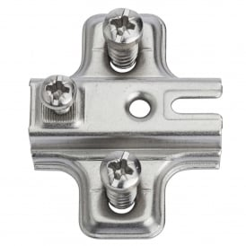 Slyder Slide On M/Plate -2 cw Euroscrew