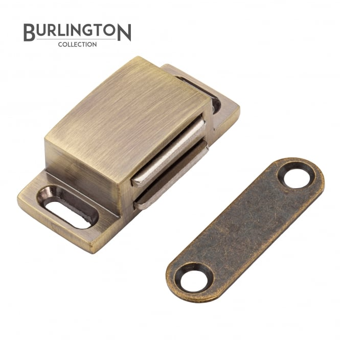 The Burlington Collection Antique Brass Steel Magnetic Catch