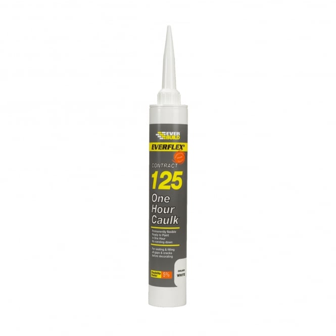White Decorators Caulk